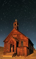 Bodie Church Star Trails